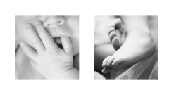 Newborn Baby Kyla | Baby Features Hands & Feet