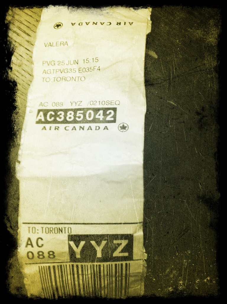 Baggage Tag - Last Day Travelled