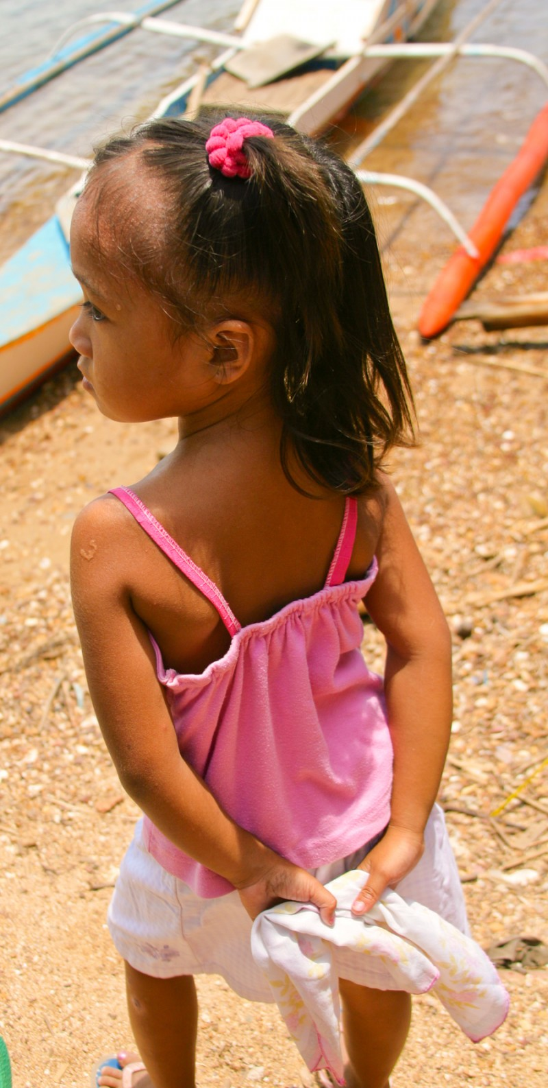 Little Girl in Pink Top - Philippines