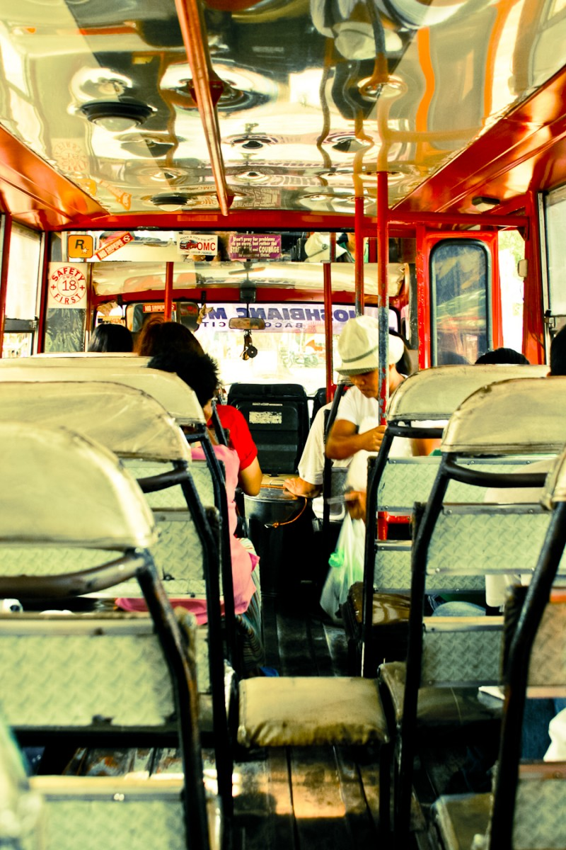 Back of the Jeepney - Philippines
