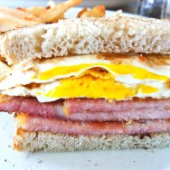 Peameal Bacon and Egg Sandwich - Ted's Restaurant