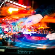 DJ Club Night Photography with Turntables