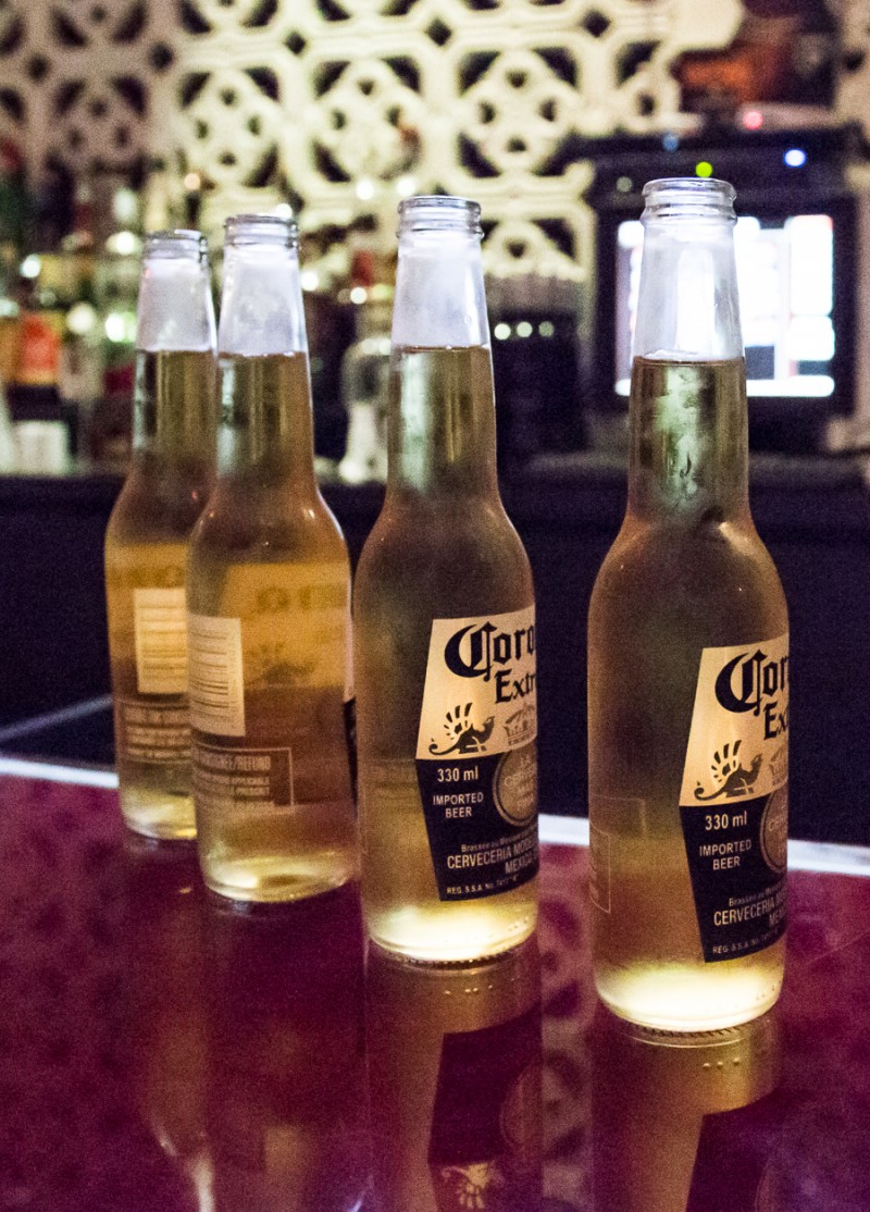 Corona's on the Bar Counter | Dazzling Toronto