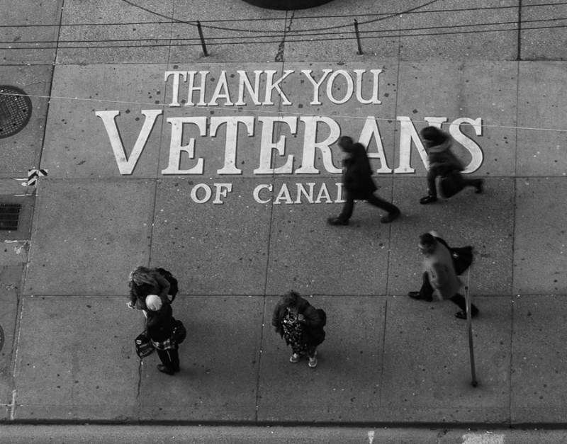 Thank You Veterans of Canada - Toronto Courts