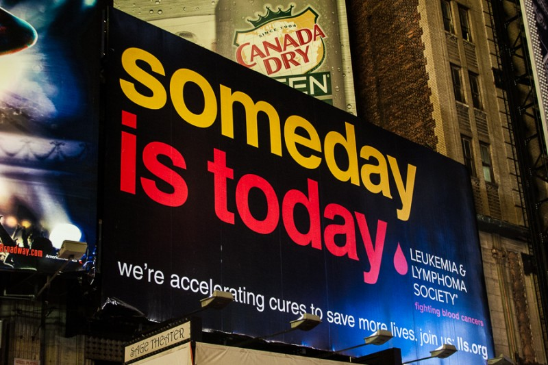 Someday is today