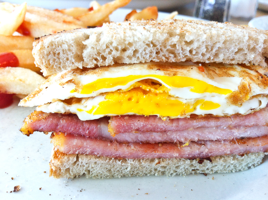 Peameal Bacon and Egg Sandwich | Ted's Restaurant | photo a day ...